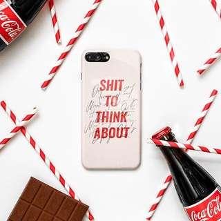 Shit to think about Iphone6/6s case