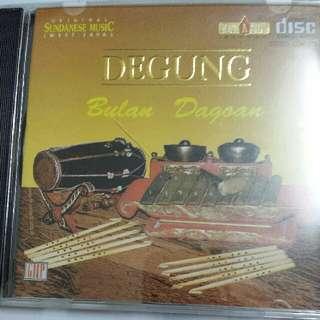 Music CD (Gamelan): Gentra Pasundan–Degung: Bulan Dagoan