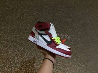 (Best Seller) Off-White x Air Jordan 1 High