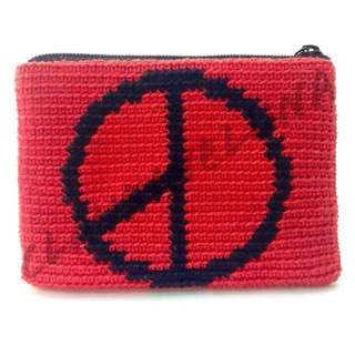 Personalized/Customized Crocheted Coin Purse (HANDMADE)