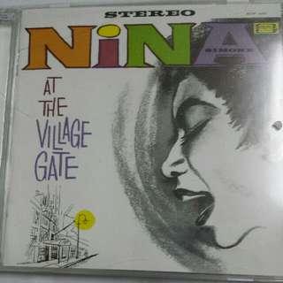 Music CD: Nina Simone–At The Village Gate