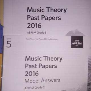 5級樂理書&past paper