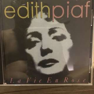 Edith Piaf French cd