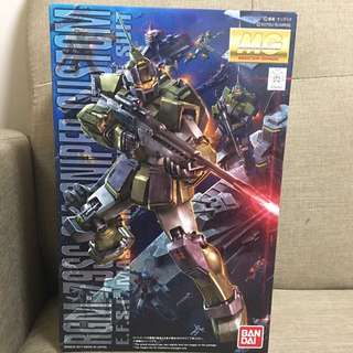 Readystock - bandai mg rgm-79sc gm sniper custom