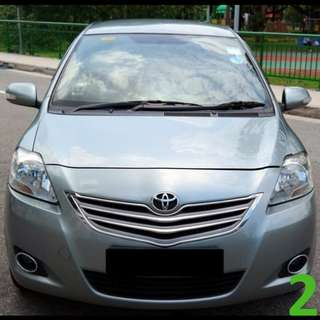 1 Week Contract Toyota Vios @ $365