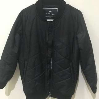 Huffer XS Quilted Bomber Jacket