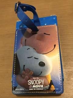 Snoopy行李牌