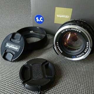 Voigtlander 35mm f1.4 S.C. (10/10)