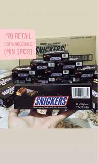 Snickers 12pcs/box