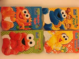 Elmo cookie monsters books