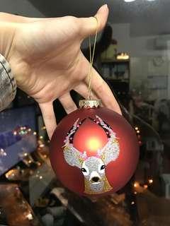 Lane crawford 聖誕樹掛飾(波波)一只