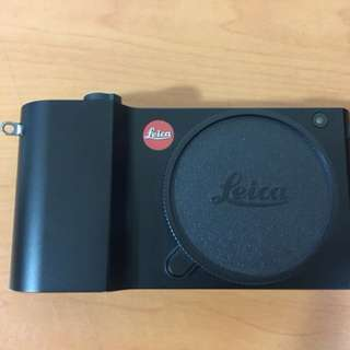 Leica T Body with Leather Cover