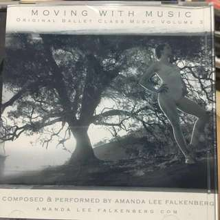 Moving with music ballet music cd