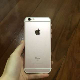 Iphone 6s 64gb (Rosegold)