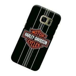 Harley Davidson Stripes Samsung Galaxy S7 Custom Hard Case