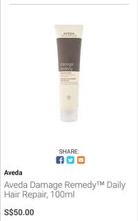 25ml Aveda Damage Remedy™ Daily Hair Repair