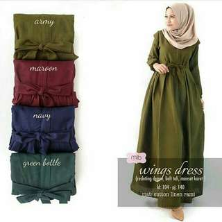 Restock wongs dress
