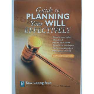 Guide to Planning Your Will Effectively