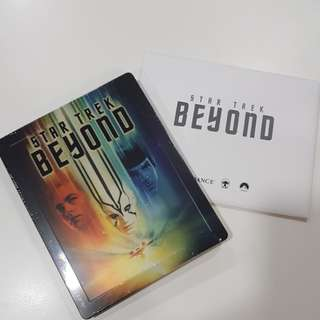 Star Trek Beyond bluray steelbook (2D+Bonus disc)