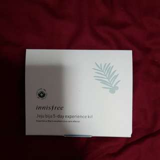 Innisfree Hejun Bija 5 day experience kit