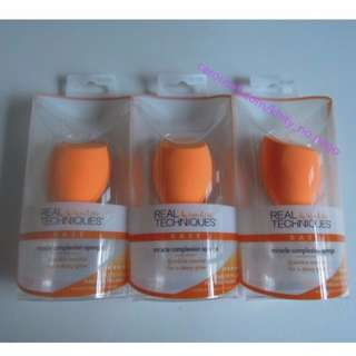 AUTHENTIC real techniques Miracle Complexion Sponge by sam & nic chapman 1 single pack