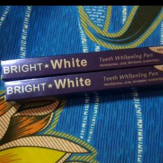 Bright Whitening Teeth Pen