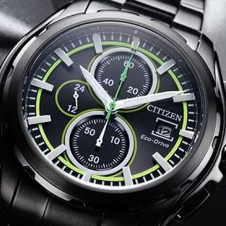 Citizen watch 光動能計時手錶