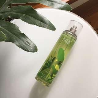 New Bath & Body Works White Citrus