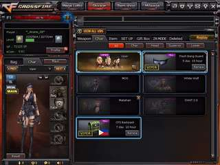 Crossfire account