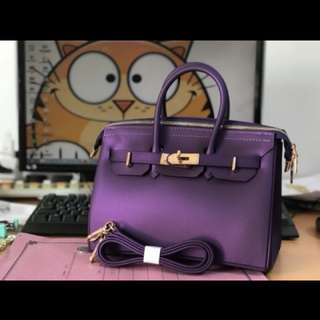 HandBag jelly 6 warna sz 26