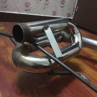 Satria Neo Twin Loop Piping 2inch