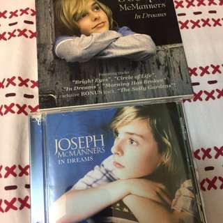 "Joseph McManners CD - ""In Dreams"""