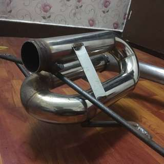 Satria Neo Twin Loop Piping 2inch