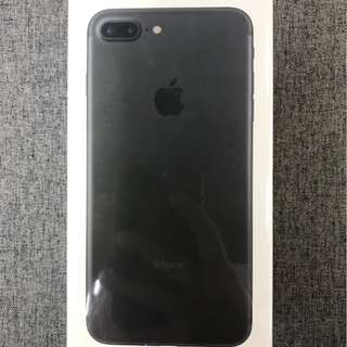 全新未開封 (256GB) I Phone 7 Plus 啞黑色