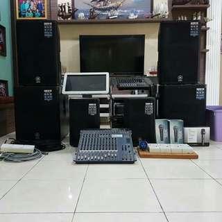 Yamaha Karaoke set