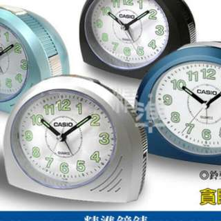 🌟🌟🌟6折全新行貨卡西歐坐枱行針鬧鐘-40% Off Brand New Original Casio Desk Top Analog Alarm Clock