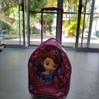 Princess sofia kids carry on luggage