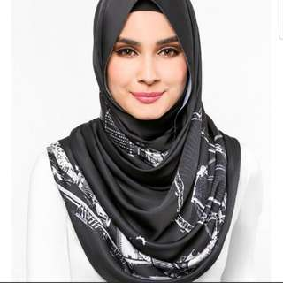 Authentic dUCk The Singapore Scarf in Black