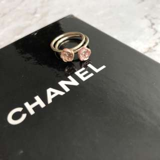 Chanel camellia ring