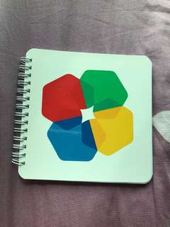 Google Lined small notebook