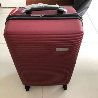 NEW Red Corroca Cabin Handcarry Luggage Baggage Suitcase