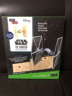 Incredi Builds Star Wars Tie Fighter 3D Wood Model