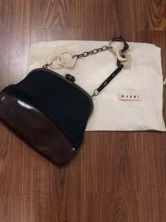 MARNI Lucite Strap Shoulder Bag