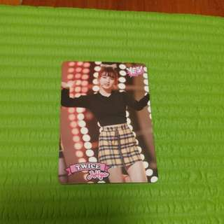 Twice yescard Jihyo