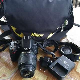 Nikon D5100 SC 9K FULL SET