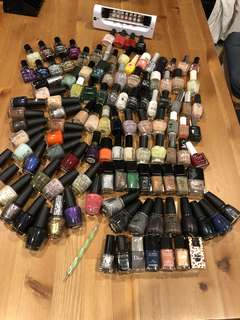 100+ Nail polish collection