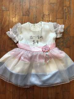12-18 month gorgeous party dress