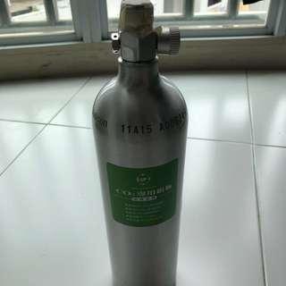CO2 Aluminium cylinder 1 litre