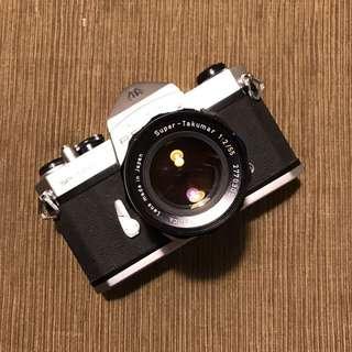 Pentax Spotmatic 50mm F2 Lens Film Camera