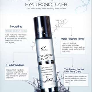 A.H.C Hyaluronic Toner